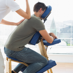 Read more about the article Corporate Chair Massage Benefits